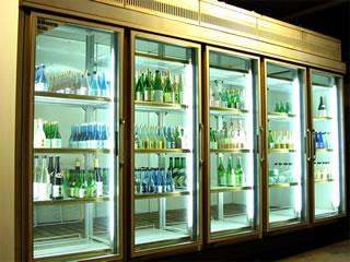 広島お酒スタイル 冷蔵庫写真